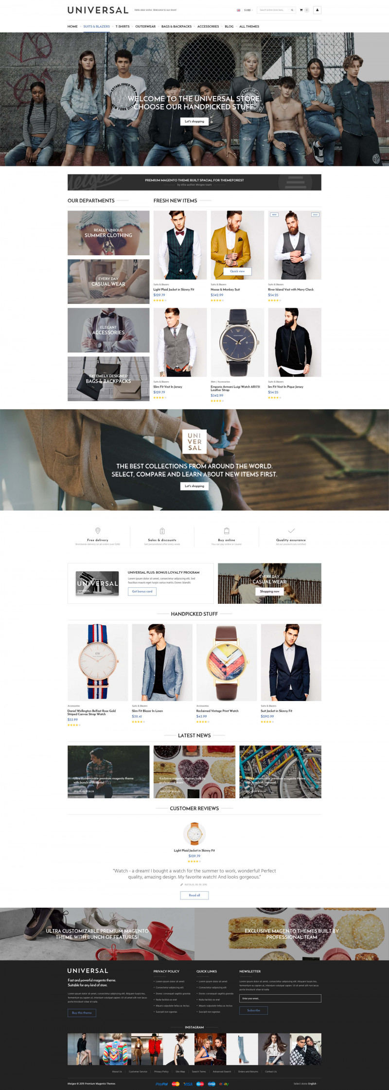 Magento Themes & Templates from Meigee